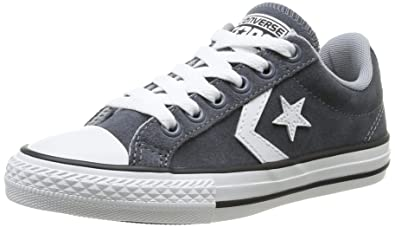 cd7e43276a3 ... promo code for converse unisex child star player junior ev lace ox  trainers 385110 122 charcoal