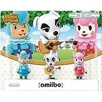 Pack 3 figurines amiibo : Serge + Kéké + Risette [Collection Animal Crossing]