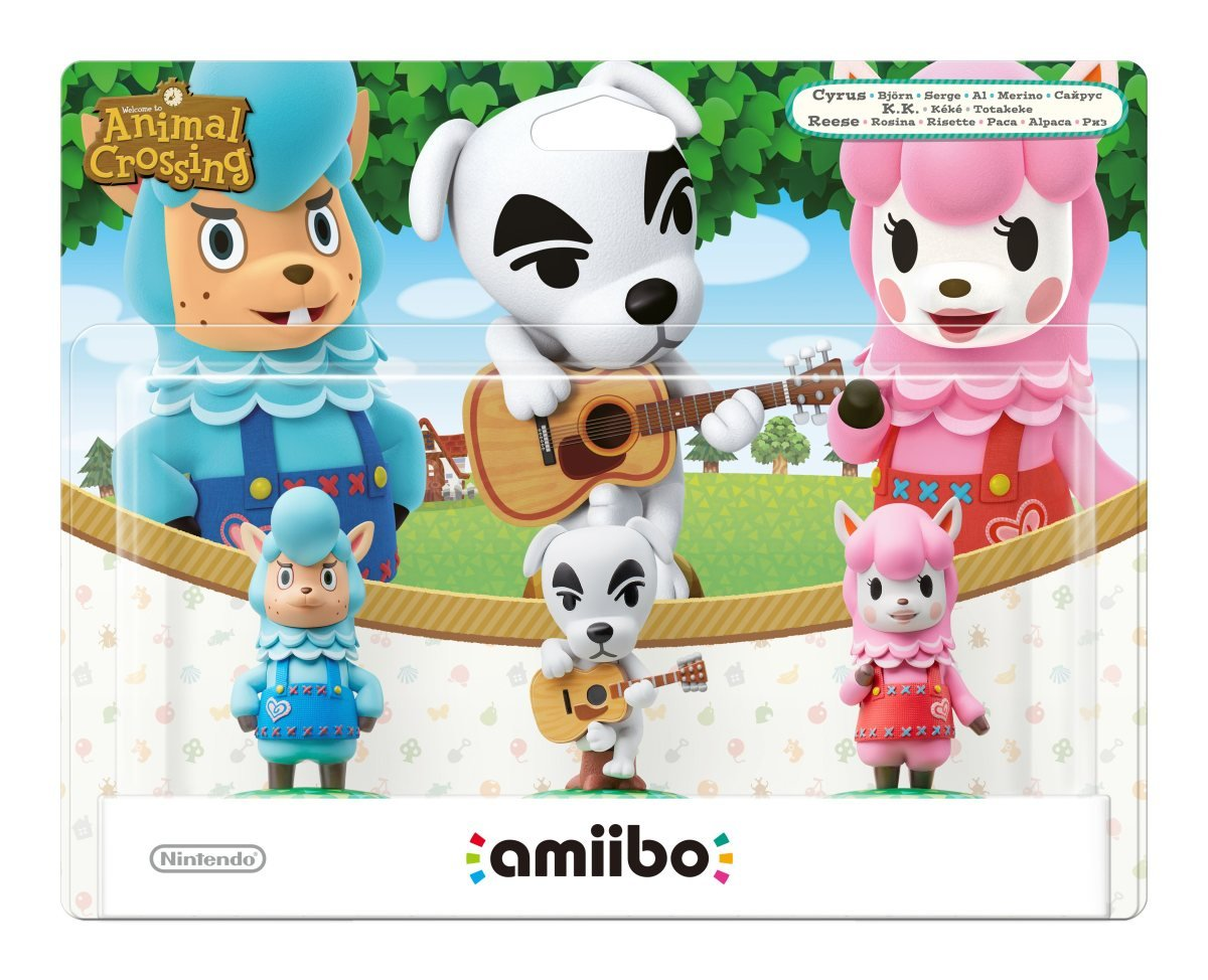 Nintendo - Pack 3 Figuras Amiibo (Totakeke, Al, Paca): not machine ...