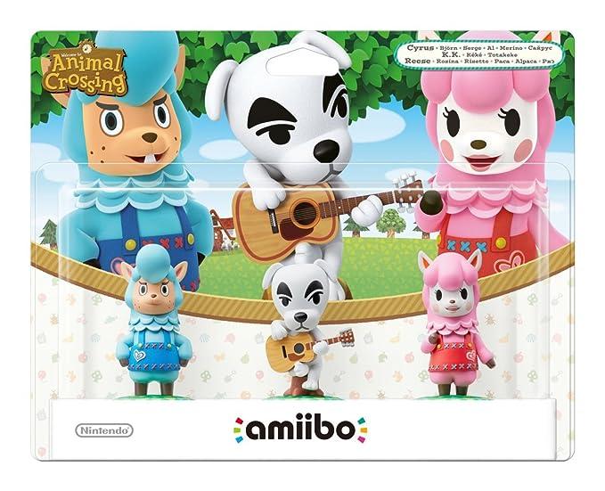 Nintendo - Pack 3 Figuras Amiibo (Totakeke, Al, Paca): not ...