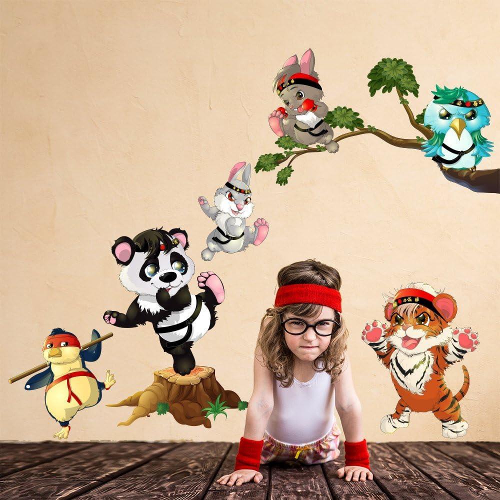 R00366 Adhesivos Pared Panda Tigre Decoraci/ón Pegatina Dormitorio infantil Ni/ño