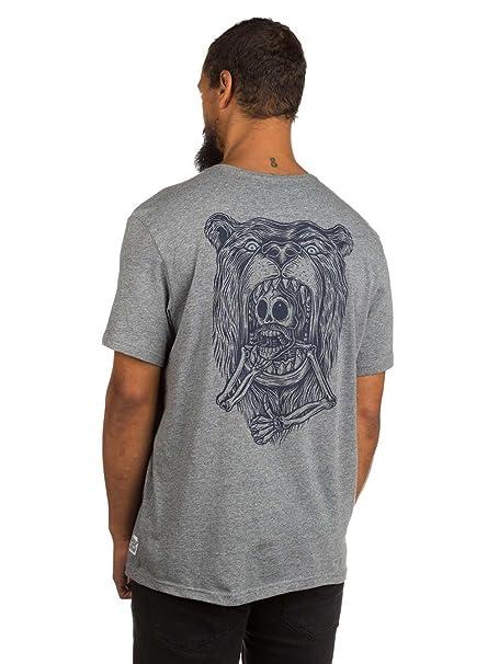 Element - Camiseta - para hombre, GREY HEATHER, Large: Amazon.es: Ropa y accesorios