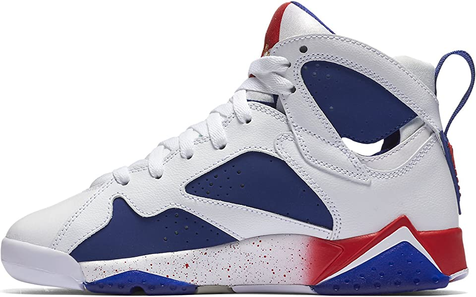 Jordan Air 7 Retro BG Olympic Tinker Alternate Big Kid s Shoes White ... 09eb123b5