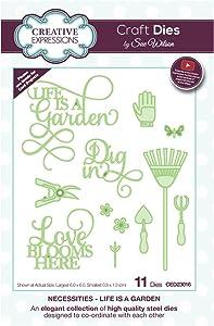 Craft Die CED23016 Sue Wilson Necessities Collection - Life is a Garden