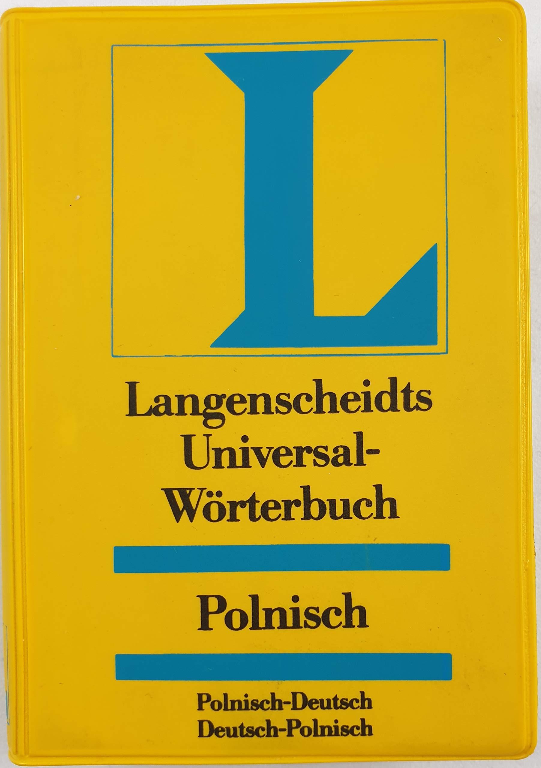 Langenscheidts Universal Wörterbuch Polnisch