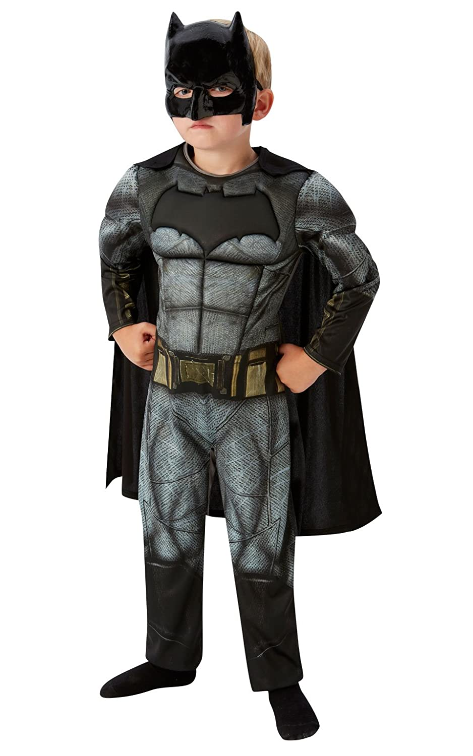 Rubieu0027s Official DC Comics Warner Bros Dawn of Justice Deluxe Batman Fancy Dress Costume - Small Rubies Amazon.co.uk Toys u0026 Games  sc 1 st  Amazon UK & Rubieu0027s Official DC Comics Warner Bros Dawn of Justice Deluxe Batman ...