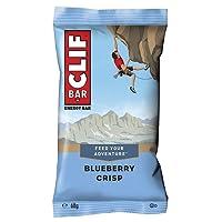 Clif Bar Energy Bar Blueberry Crisp 68 g (Pack of 12)