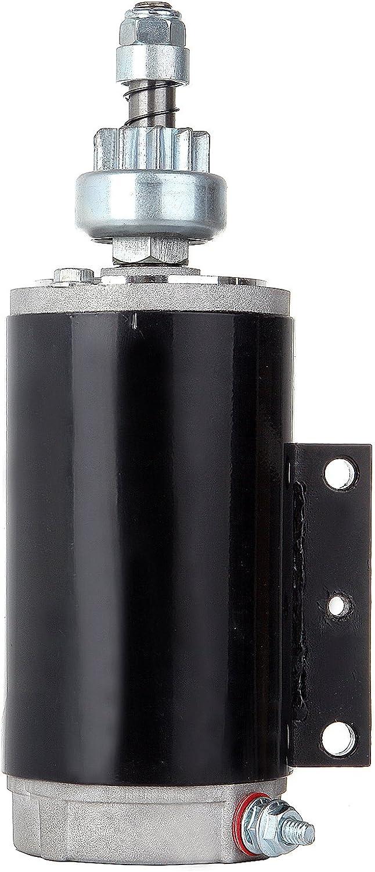 ECCPP SAB0066 New Starter for Motor Omc Johnson Evinrude 120 130 140 Hp, E130Tl E130Tx 130 Hp 1995-1998, E120Tl E120Tx 1988-1994 393570 585060 586285 4730920-M030SM 4730940-M030SM SM47309