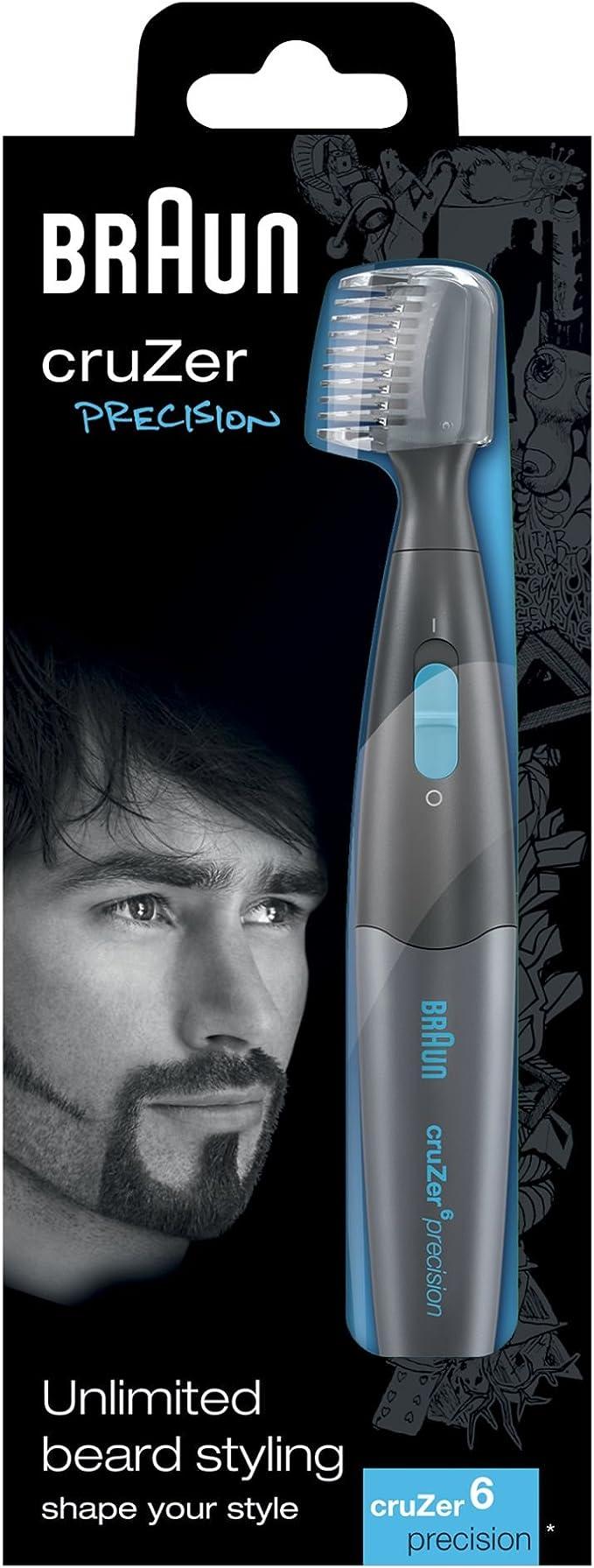 Braun cruZer6 Precision - Recortadora de precisión 2 en 1: Amazon ...