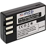 Batteria D-LI109 per Pentax K-r, Kr, K-S1, K-S2, K30, K-30, K-50, K50, K-70, K70, K-500, K500