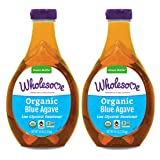 Wholesome Organic Blue Agave Nectar, Natural Low Glycemic Sweetener, Non GMO, Fair Trade & Gluten Free, 44 Ounce (Pack…