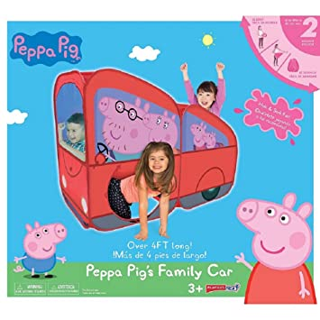 Peppa Pig Play Hut Tent Tunnel Easy Set Up 4 Feet  sc 1 st  Amazon.com & Amazon.com: Peppa Pig Play Hut Tent Tunnel Easy Set Up 4 Feet ...