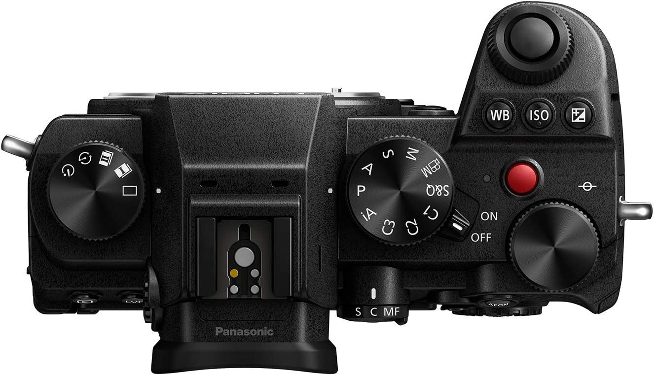 Panasonic Lumix Dc S5e K Systemkamera Schwarz Kamera
