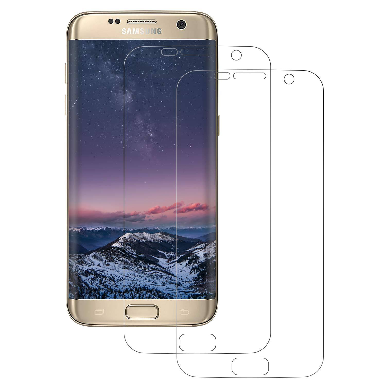 FayTun Protector de Pantalla Galaxy S7 Edge, Protector de Transparencia Ultra Resistente al 99%, Anti-Aceite, Anti-Burbujas, Protector Pantalla para Galaxy S7 Edge, 2 Piezas: Amazon.es: Electrónica