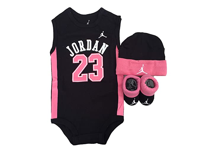 Jordan Jersey Ropa de bebé de 3 Piezas de Baloncesto Set (0 – 6 Meses 918dea5ec0d