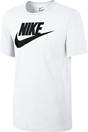 78cb2c580 Nike Men's Icon Futura Short Sleeve Top: Nike: Amazon.co.uk: Clothing