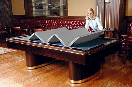 Campana piel 480 44 x 88 en – Convertible en mesa de billar cubierta: Amazon.es: Deportes y aire libre