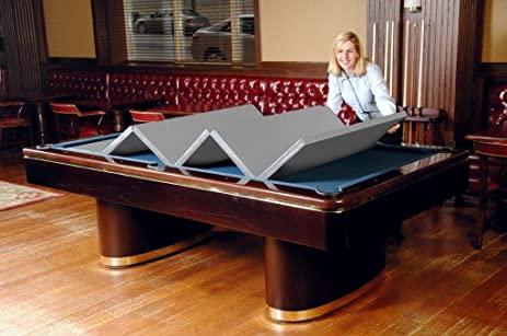 Hood Leather 470 38 X 76 In   Convertible Pool Table Cover