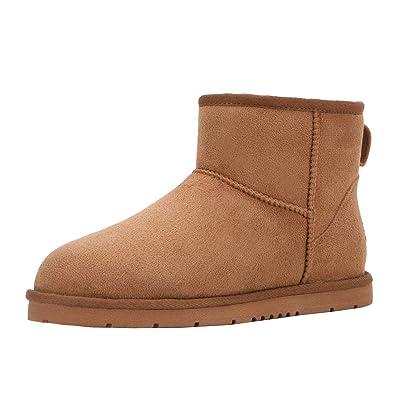 CLPP'LI Womens Classic Mini Winter Snow Boots | Snow Boots