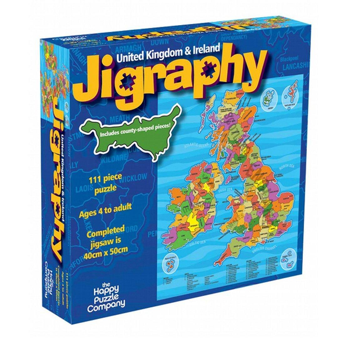 Jigraphy united kingdom ireland amazing uk map jigsaw puzzle jigraphy united kingdom ireland amazing uk map jigsaw puzzle by the happy puzzle company 100 pieces amazon toys games gumiabroncs Images