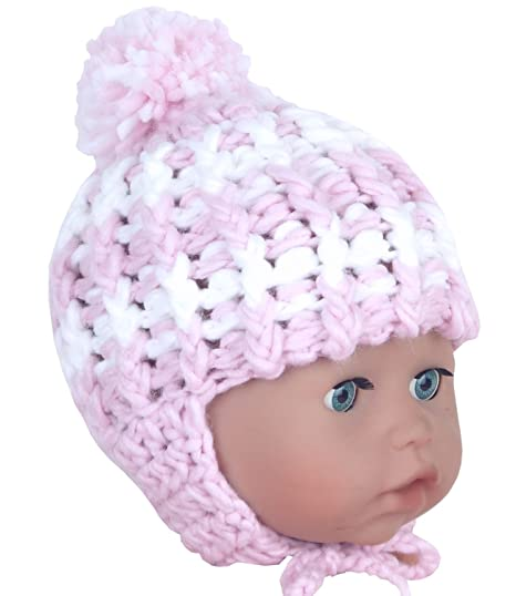 Hüte, Mützen & Caps Bekleidung BabyPrem Baby Hut Winter Kleidung Nepalese Mütze Neugeborenes Jungen Mädchen