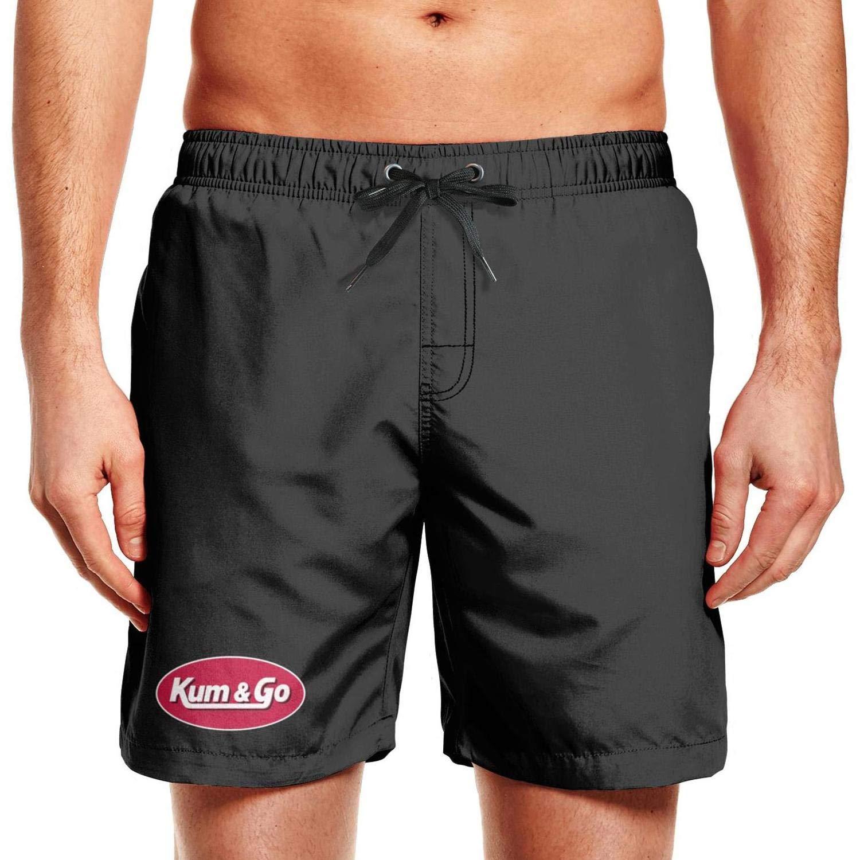 QDJIEJDFLP Mens Swim Trunks Quick Dry Printed Mens Boys Swimming Trunks Beach Board Shorts with Mesh Lining