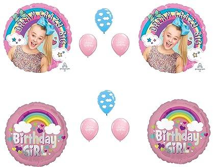 Amazon Com Jojo Siwa Birthday Party Balloons Decorations Supplies