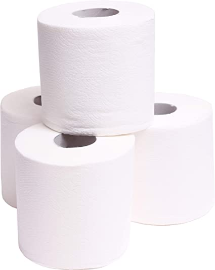 Amazon Com Tiger Chef Toilet Paper Rolls 2 Ply 500 Sheets Per Roll Of Bathroom Tissue Pack Of 4 Rolls Health Personal Care