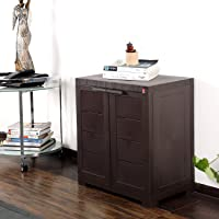 Cello Novelty Compact Cupboard - Ice Brown