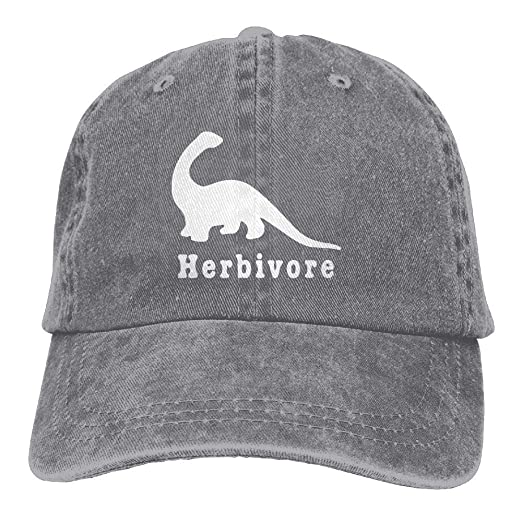 13af08d234f Amazon.com  DeReneletrc Unisex Herbivore Dinosaur Vintage Washed Baseball  Cap Adjustable Cap Dad Hat Visor Hats  Clothing