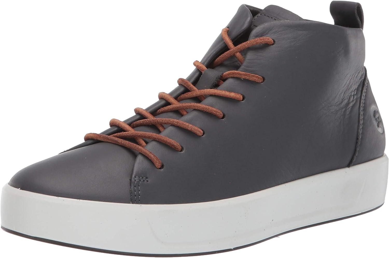 ECCO Men's Soft 8 Mid Cut Sneaker