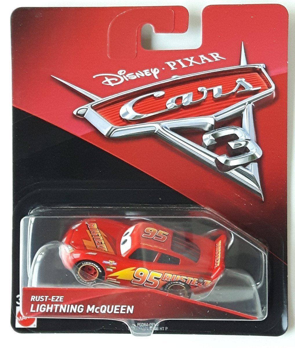 Disney Cars 3 Rust Eze Lightning Mcqueen Die Cast Vehicle 60 Off