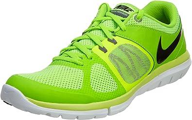 Nike Flex 2014 Rn MSL - Zapatillas para hombre, (negro, verde ...
