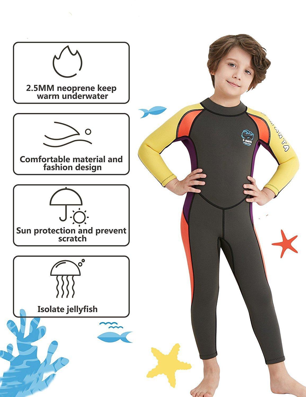 Amazon.com: Bañador DIVE & SAIL para niños, cuerpo completo ...