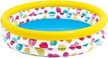 Intex 58439NP - Piscina hinchable 3 aros círculos 147 x 33 cm, 330 litros
