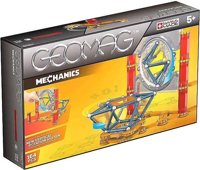Geomag- Mechanics Construcciones magnéticas y juegos educativos, Multicolor, 164 Piezas (724) , color/modelo surtido: Amazon.es: Juguetes y juegos