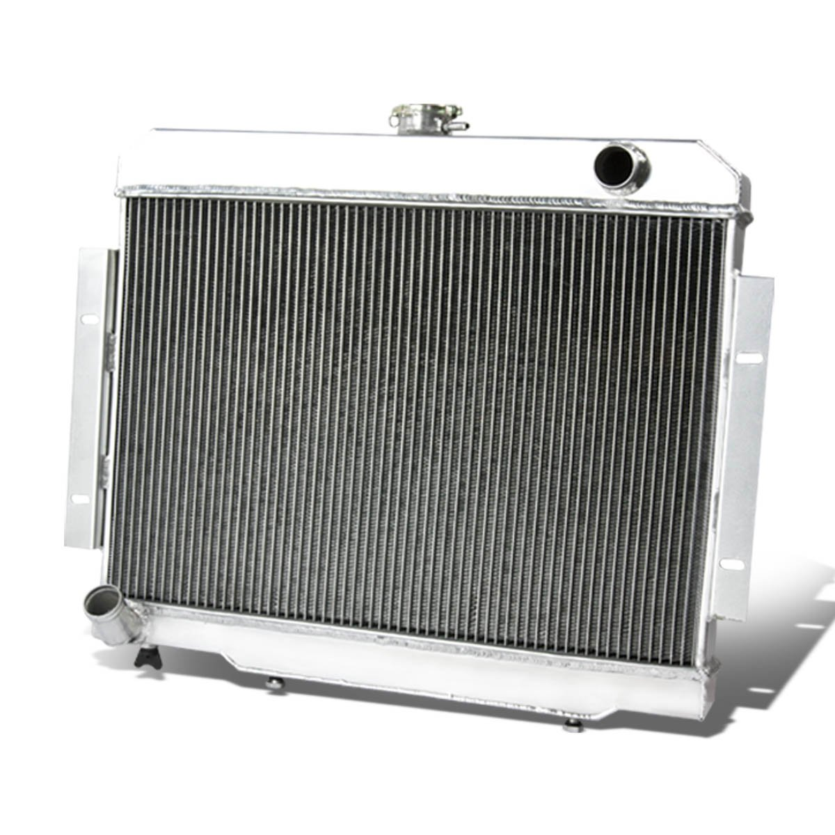 Jeep CJ 3-Row Full Aluminum Racing Radiator (Manual Transmission Only)