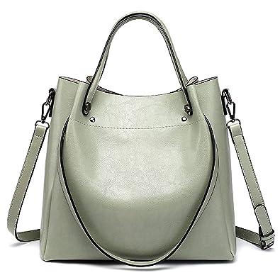 8598e4f4b614 Fashion Luxury Women Messenger Bag Large Capacity Simple Office Lady Bag  Oil Wax Women S Leather Handbags