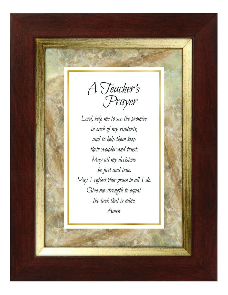 CB Gift Meaningful Moments Teacher Prayer Framed Print