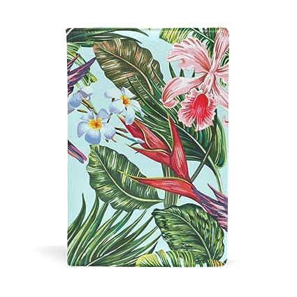 Cuaderno de piel con diseño de sirena, color morado, tamaño ...