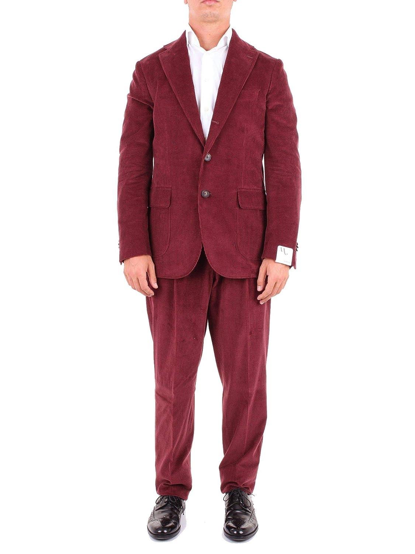 DOPPIAA Luxury Fashion Hombre AALVERCAH5300BURGUNDY Burdeos ...