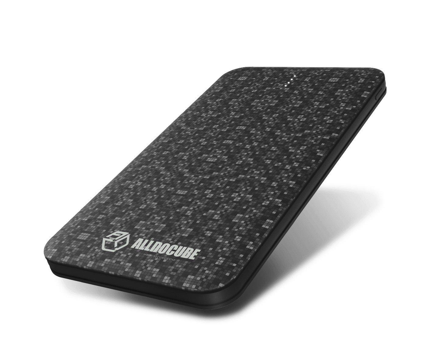 alldocube E52 5000 mAh Ultra Delgado, ligero portátil de Batería Power Bank con Dual USB Puertos de salida para iPhone, iPad y Android dispositivos: ...