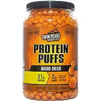 Twin Peaks Protein Puffs, Nacho Cheese, 300g 300 Gram