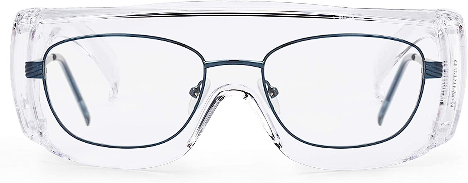SolidWork SW8319 Professional Safety Glasses with Integrated Side Protection and Anti-fog Scratch and UV Protection Coated Lenses