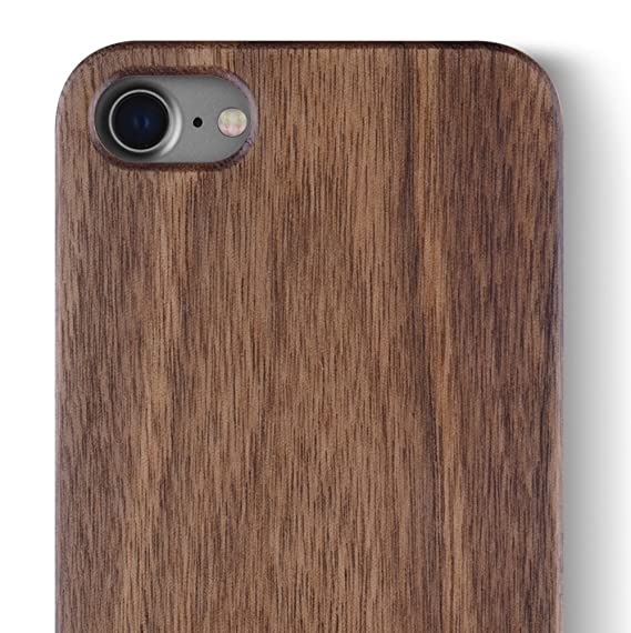 outlet store b66d7 c7266 iCASEIT iPhone 8 Wood Case - Premium Finish Unique Cases - Lightweight  Natural Wooden Hybrid Snap-on Protective Cover for iPhone 7 & 8 - FB0311 -  ...