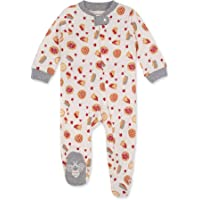Burt's Bees Baby Baby Girls' Sleep and Play Pjs, 100% Organic Cotton One-Piece Pajamas Zip Front Loose Fit Romper…