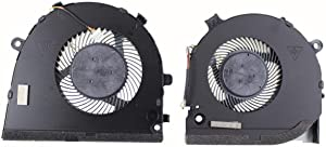 HK-Part Fan Replacement for Dell Inspiron G3 G3-3579 3779 G5 15 5587 CPU + Gpu Cooling Fan DP/N 0TJHF2 0GWMFV