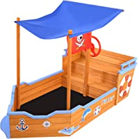 Keezi Kids Sandpit with Grand Sheet and Stickers