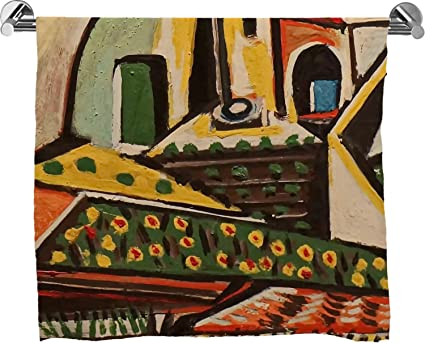 Paisaje mediterráneo por Pablo Picasso Full Print toalla de baño