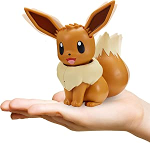 Pokemon Electronic & Interactive My Partner Eevee - Reacts to Touch & Sound, Over 50 Different Interactions with Movement and Sound - Eevee Dances, Moves & Speaks - Gotta Catch 'Em All